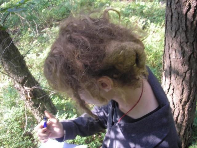 Worst Hair Cut - Mono Dread 8