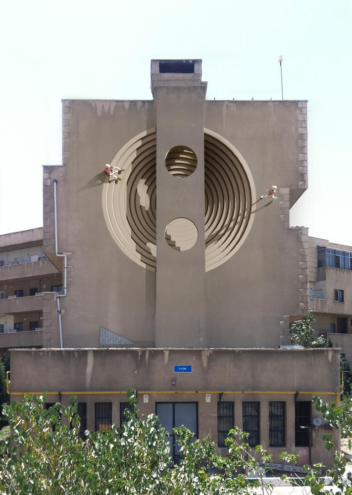 Graffiti Middle East - Tehran - 3D