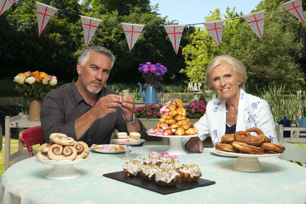Great British Bake Off featured