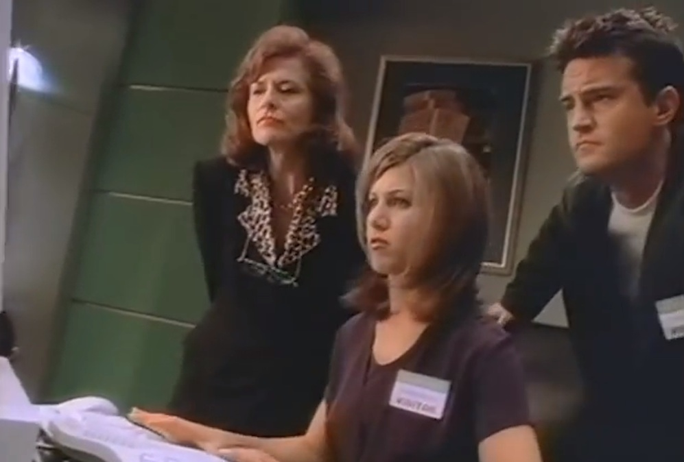Jennifer Aniston Matthew Perry Windows 95