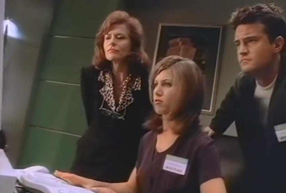 Jennifer Aniston Matthew Perry Windows 95