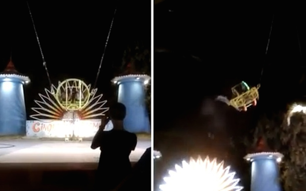 Luna Park Slingshot Snaps