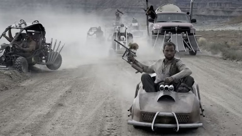 Mad Max Go Kart Race