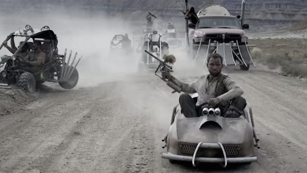 Mad Max Go Kart Race