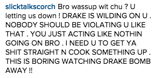 Meek Mill Instagram DIss 7