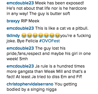 Meek Mill Instagram DIss 9