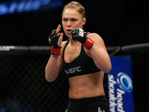 Ronda Rousey Fighting