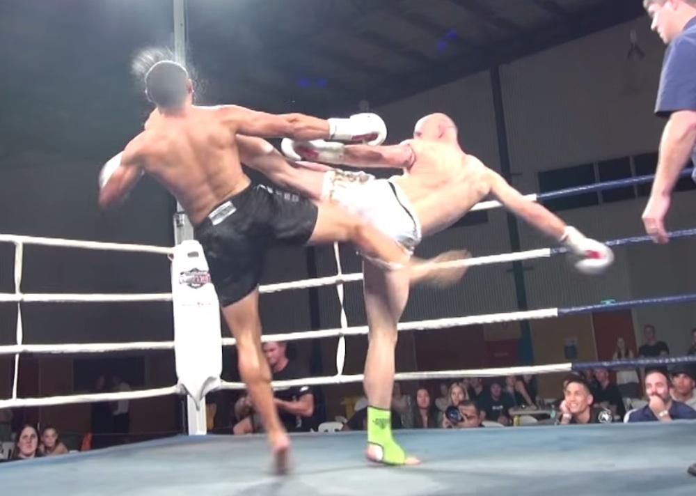 Roundhouse Knockout Kick