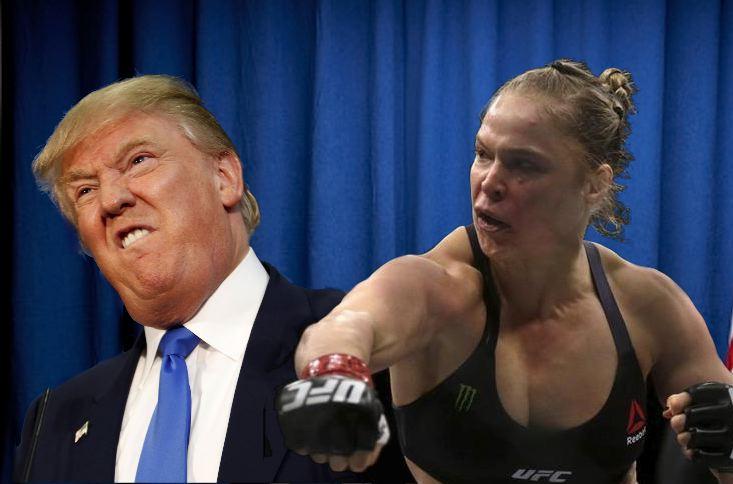 Rousey Trump