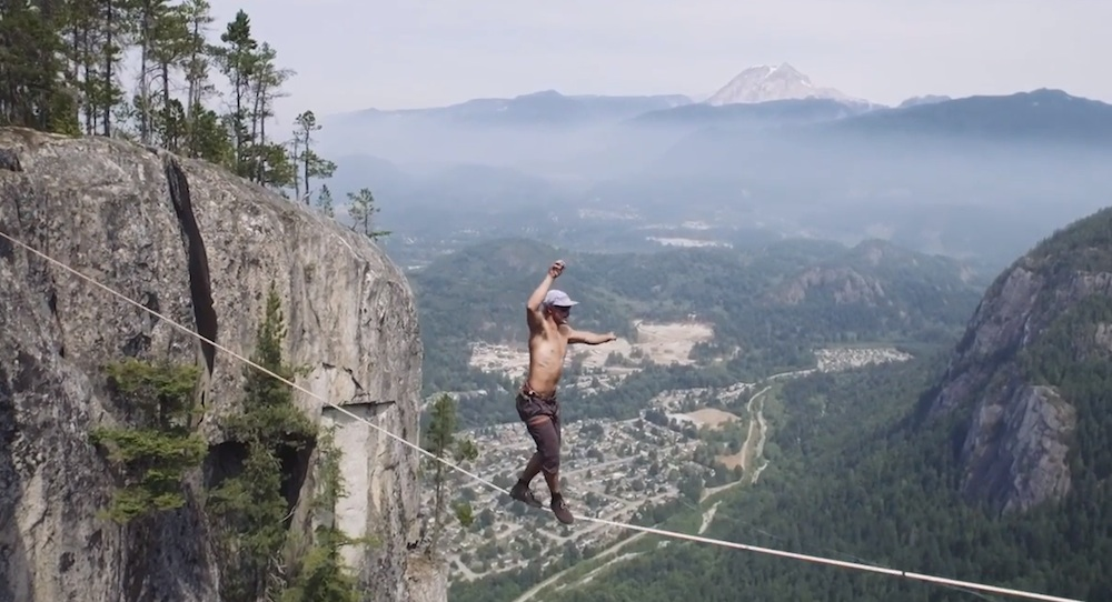 Slackline World Record Spencer Seabrooke