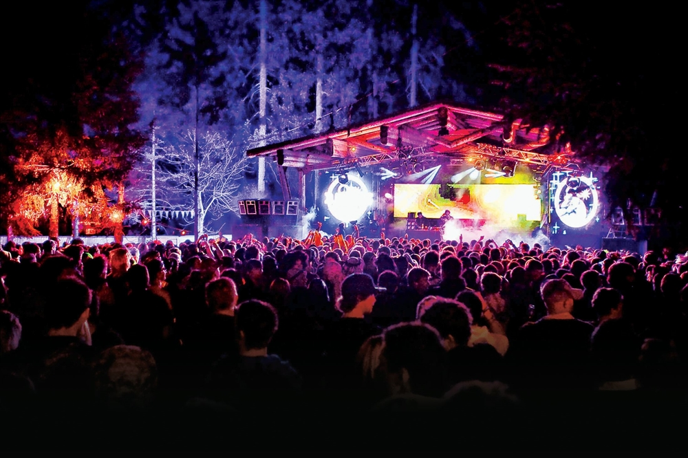 Snowbombing - The Forest