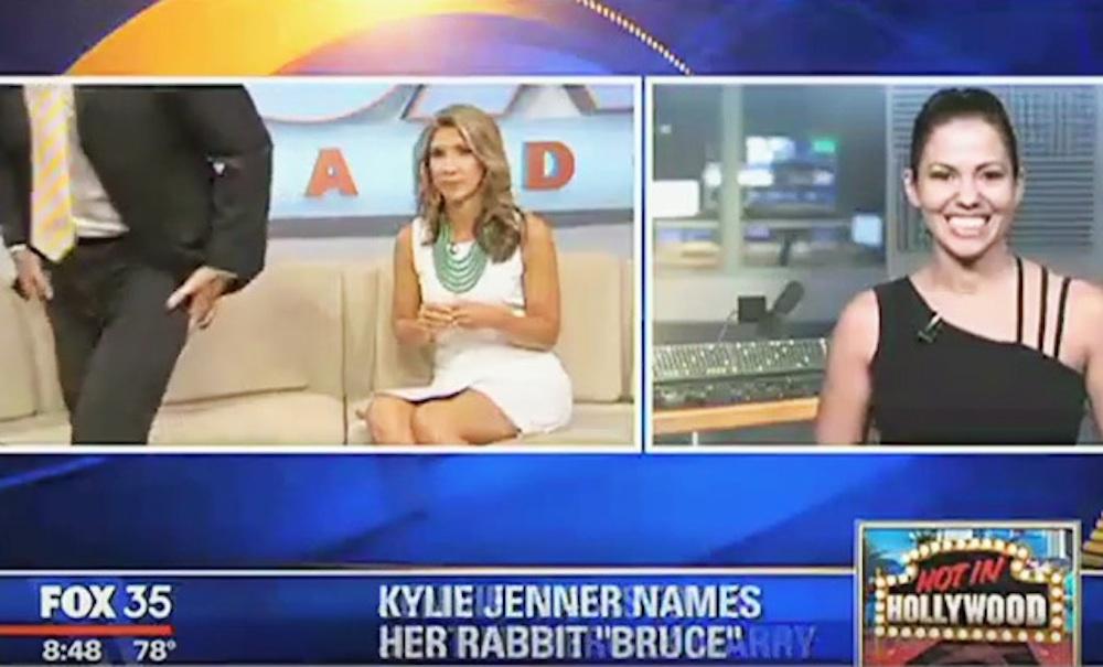 TV Presenter Walks Off Set Kardashians