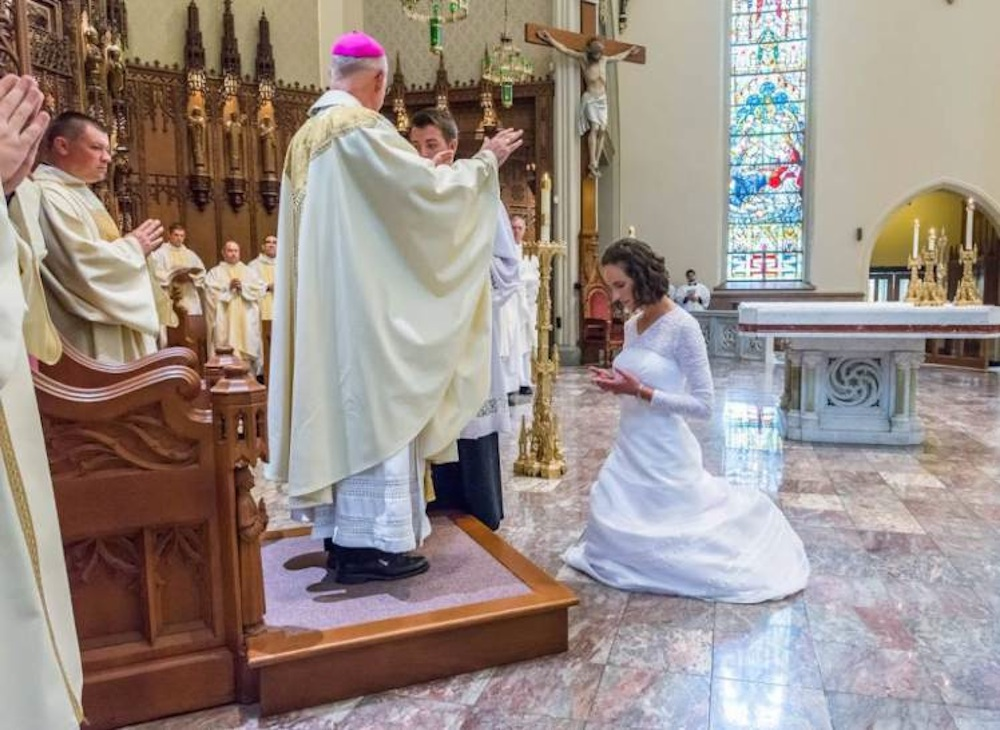 Woman Marries Jesus Christ