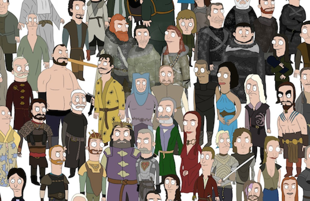 Bob's burgers Game Of Thrones Featured