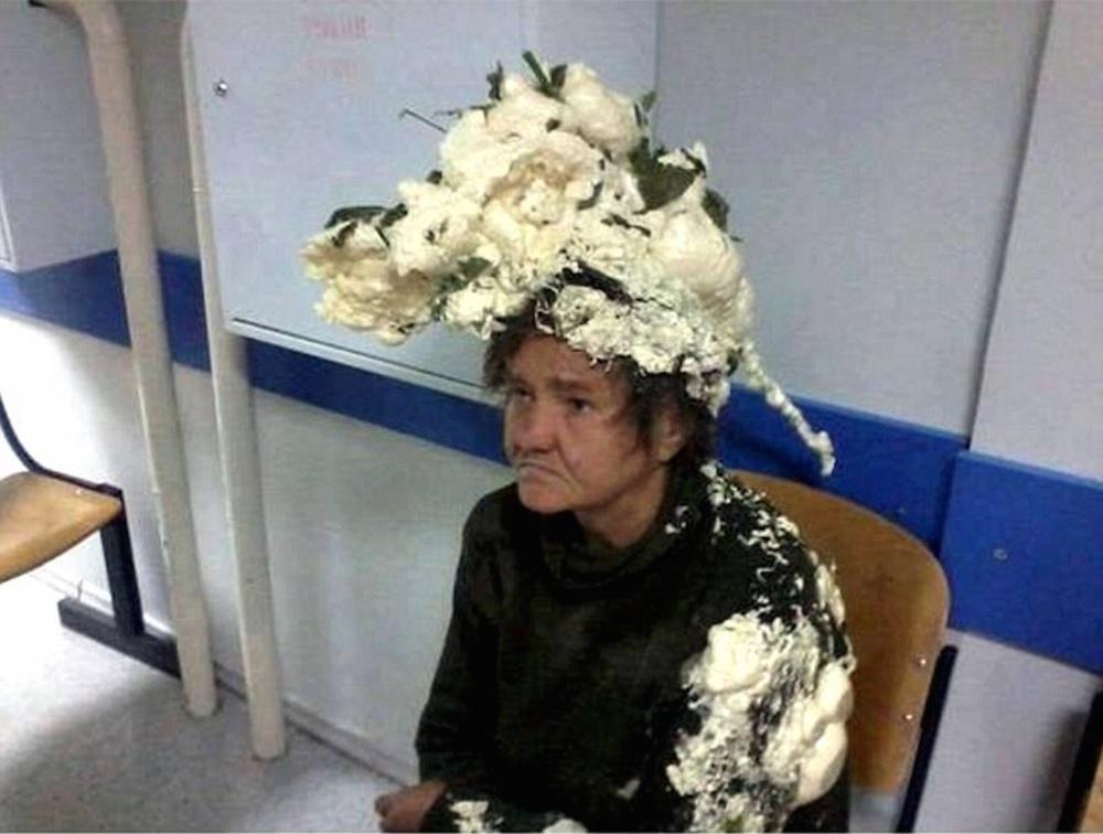 Building Foam Hair Mousse