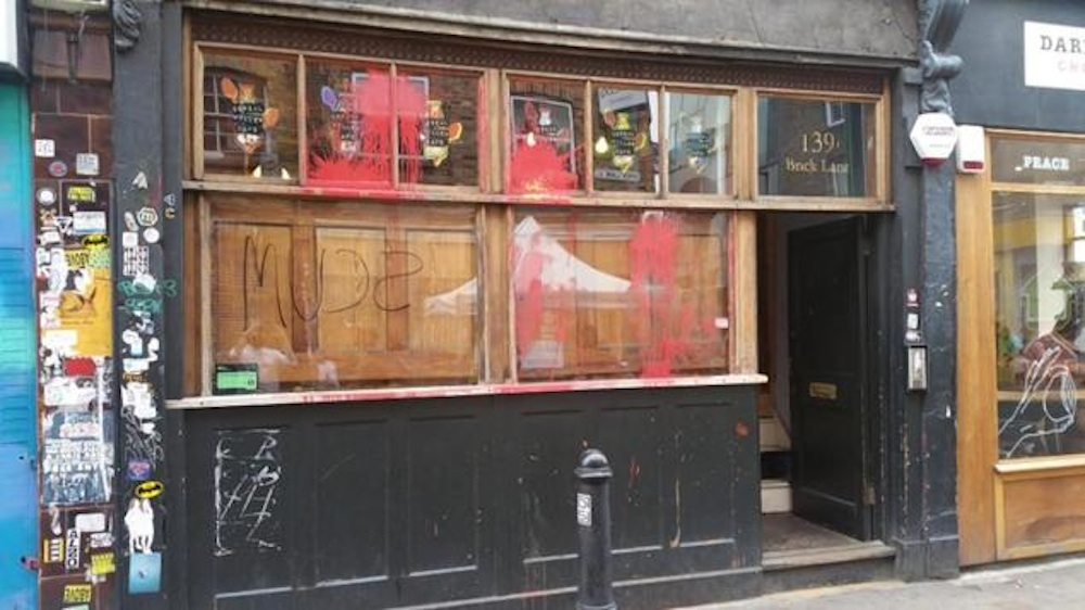 Cereal Cafe Vandalised