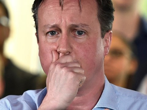 David Cameron Worried