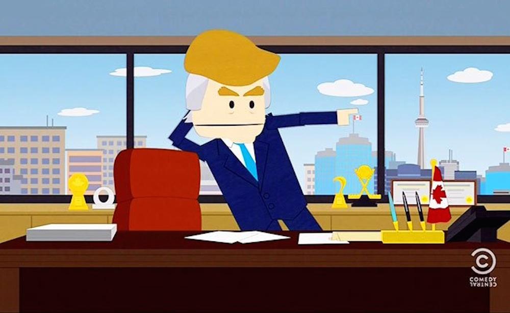 Donald Trump South Park