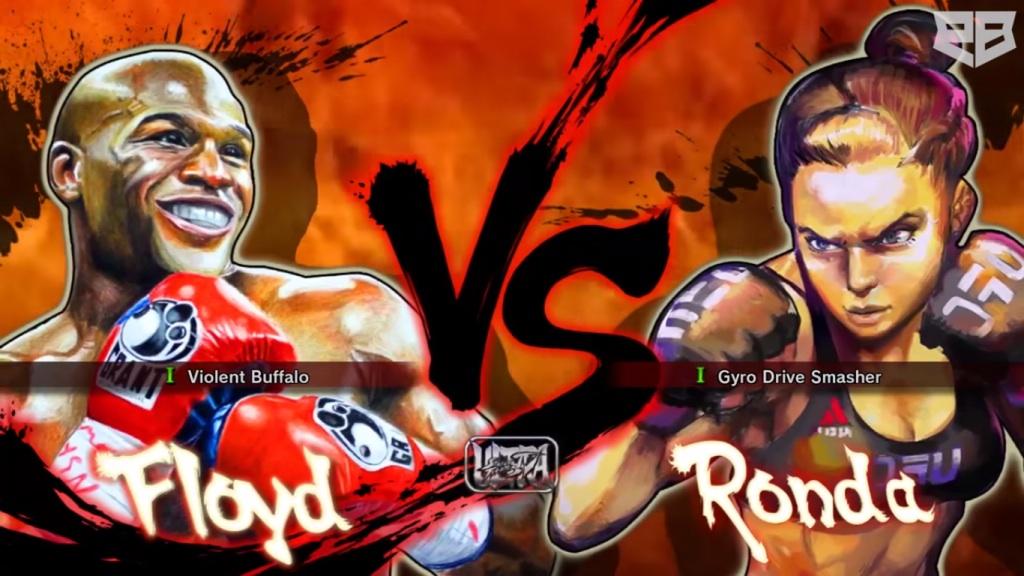 Floyd V Ronda Street Fighter