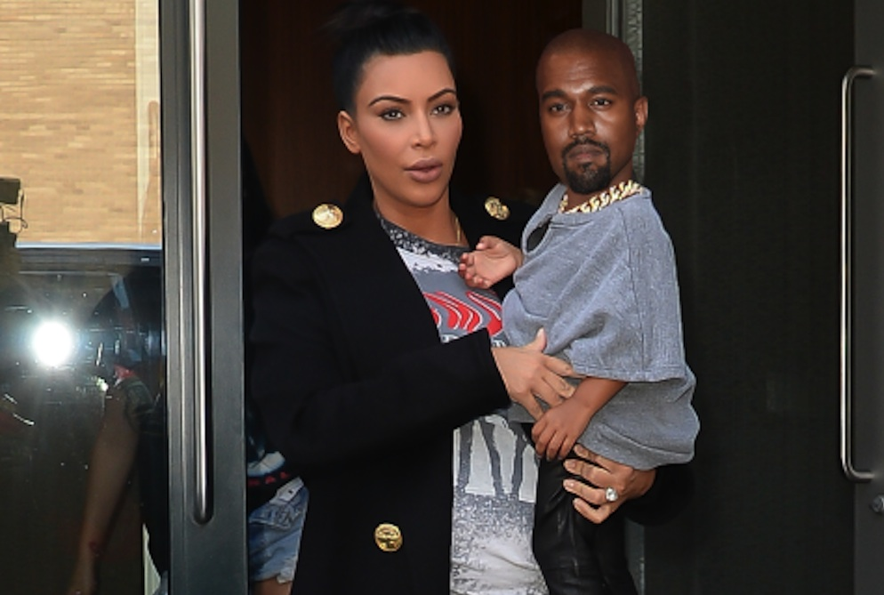 Kanye West Photoshopped North West