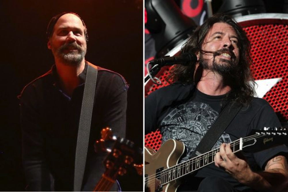 Krist Novoselic Dave Grohl