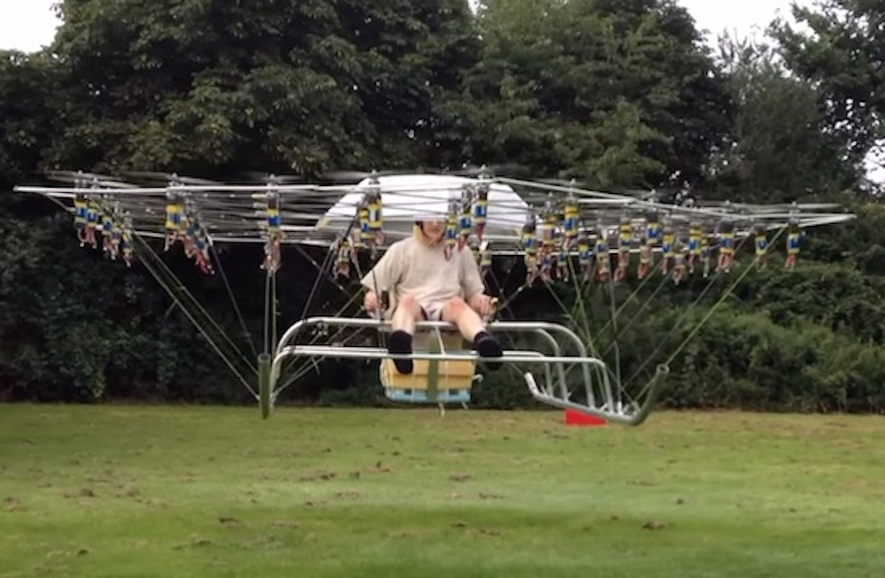 Mad Genius Flying Machine