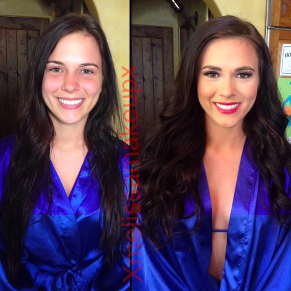 Models before and after makeup tumblr