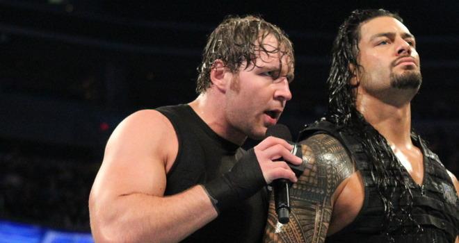 Roman Reigns Dean Ambrose