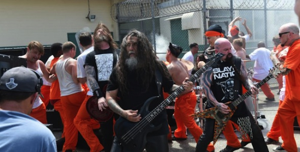 Slayer Video Prison Riot