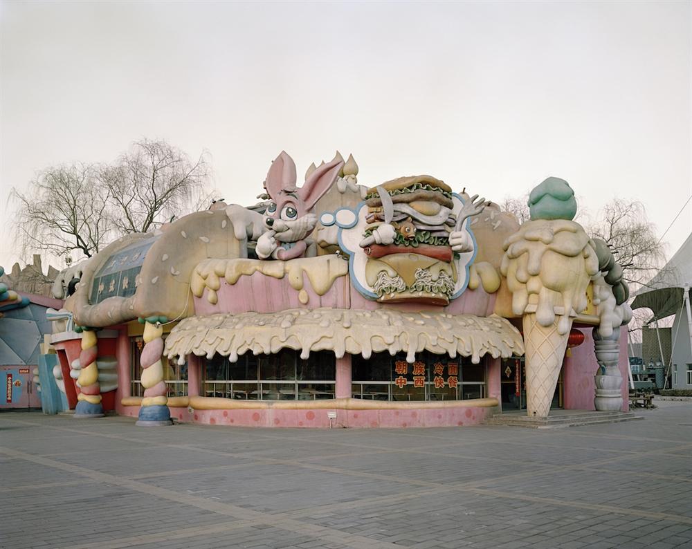 Stefano Cerio - Hibernating Parks - Shanghai Happy Burger