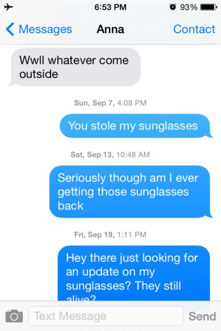 Sunglasses Texts 1