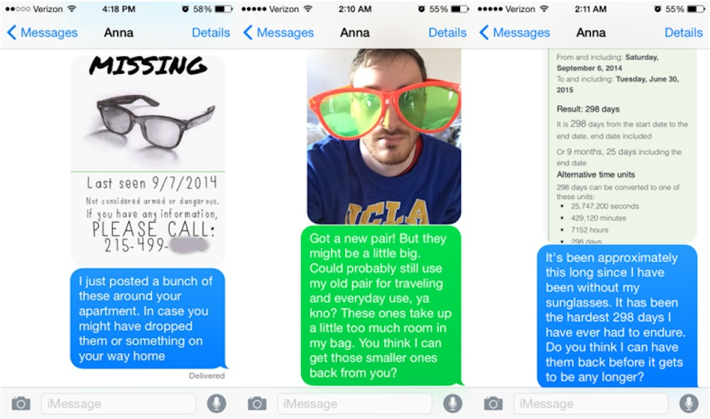 Sunglasses Texts Featured