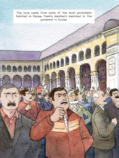 Syria Comic 5