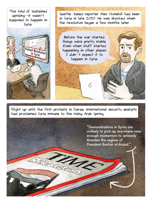 Syria Comic 8