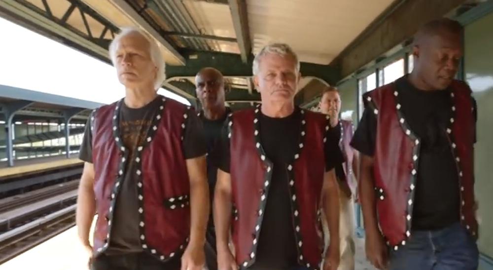 Warriors Cast Reunite Subway