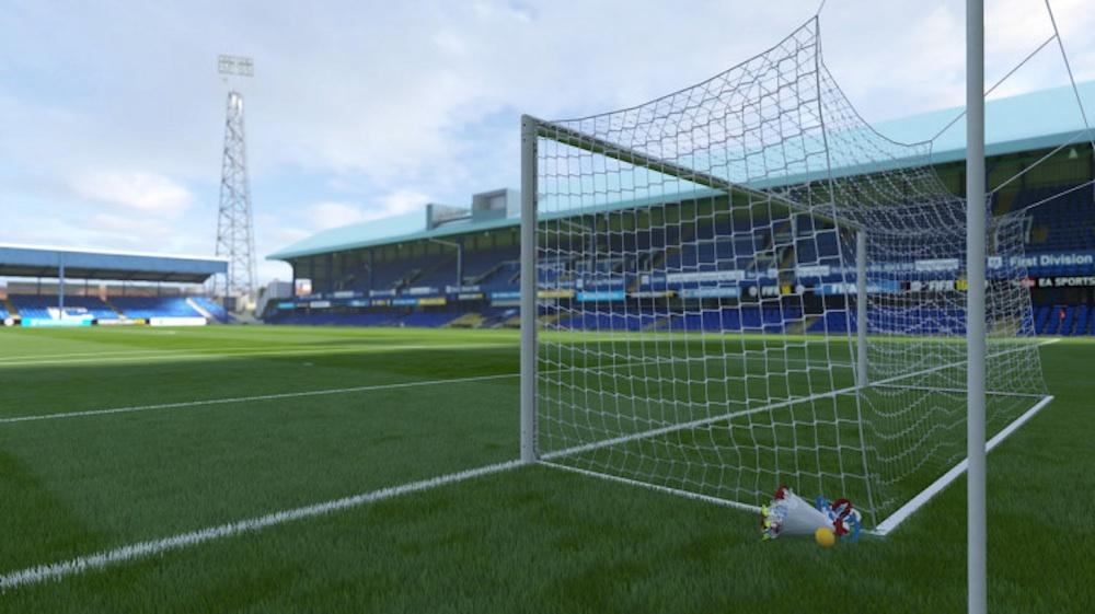 Wreath Goal Net FIFA