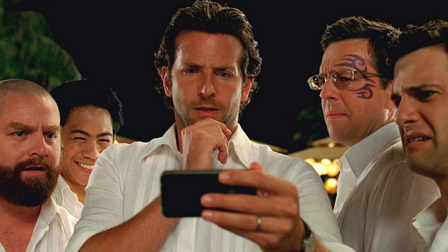 """(L-r) ZACH GALIFIANAKIS as Alan, MASON LEE as Teddy, BRADLEY COOPER as Phil, ED HELMS as Stu and JUSTIN BARTHA as Doug in Warner Bros. Pictures' and Legendary Pictures' comedy """"THE HANGOVER PART II,"""" a Warner Bros. Pictures release."""