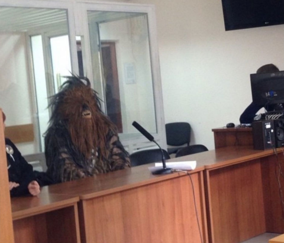 Chewbacca In Court