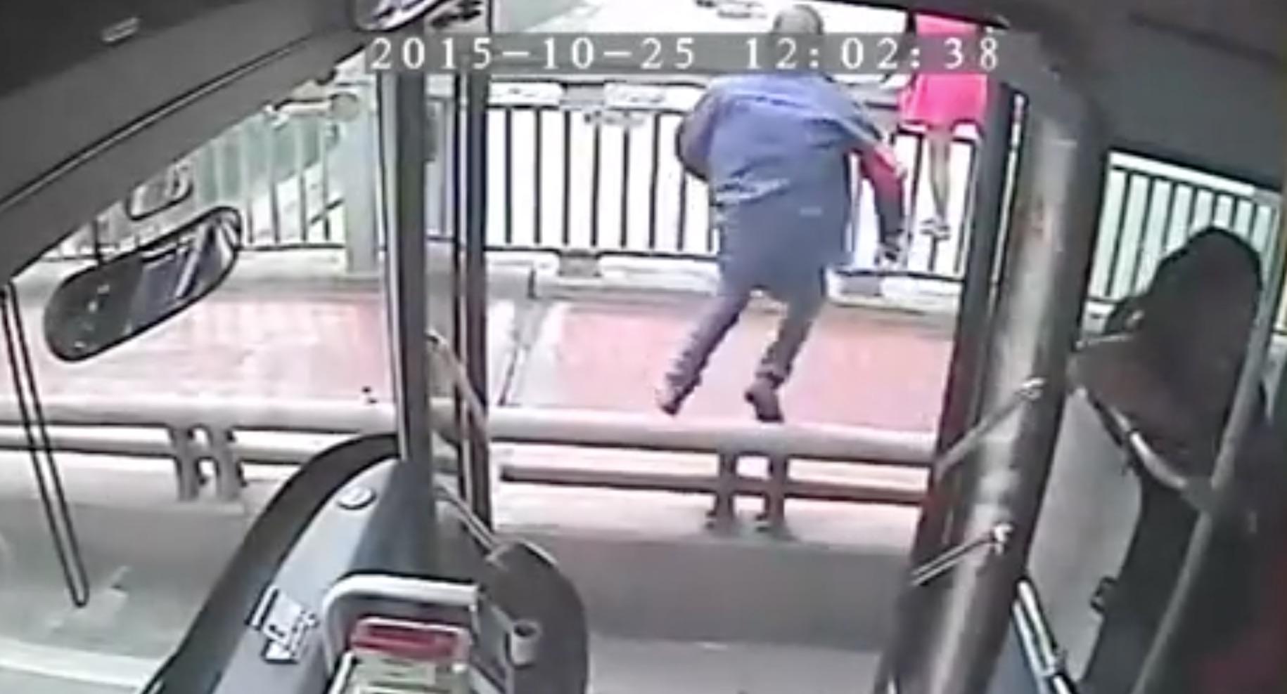 Bus Drive Suicide