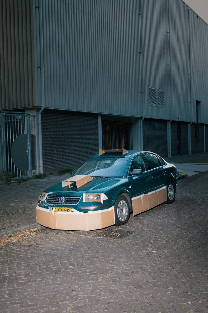 Cardboard Cars 6