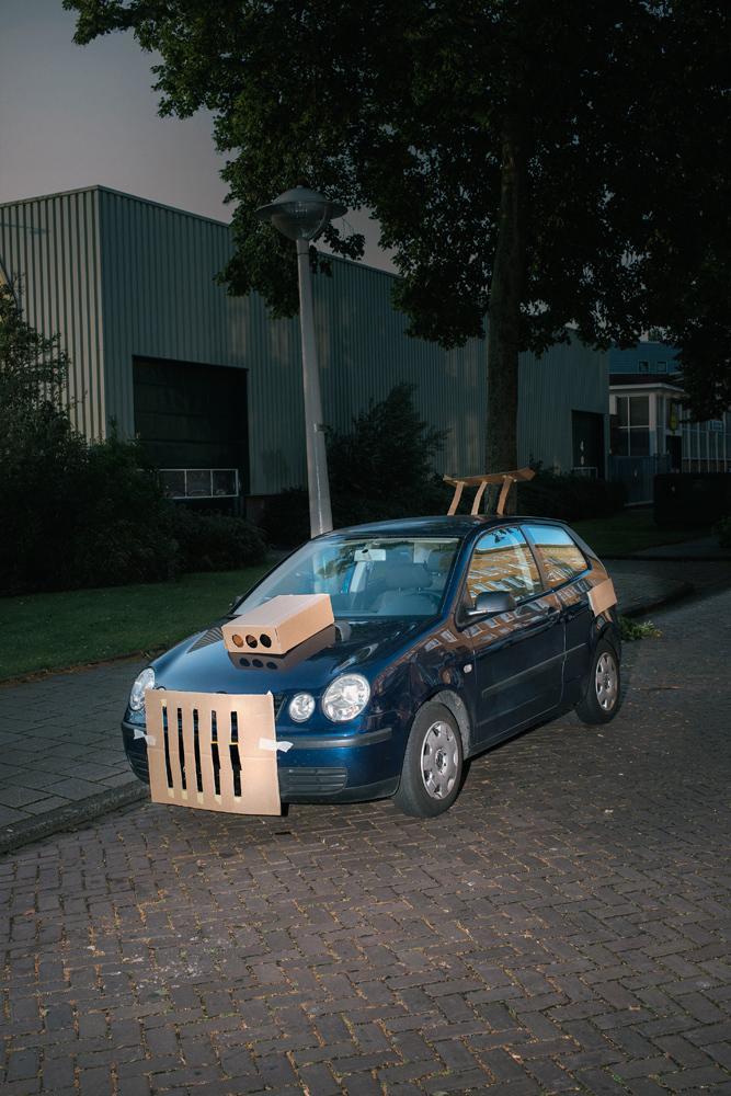 Cardboard Cars 8