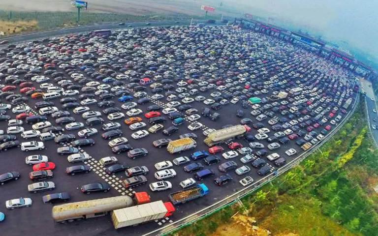 Chinese Traffic Jam 1