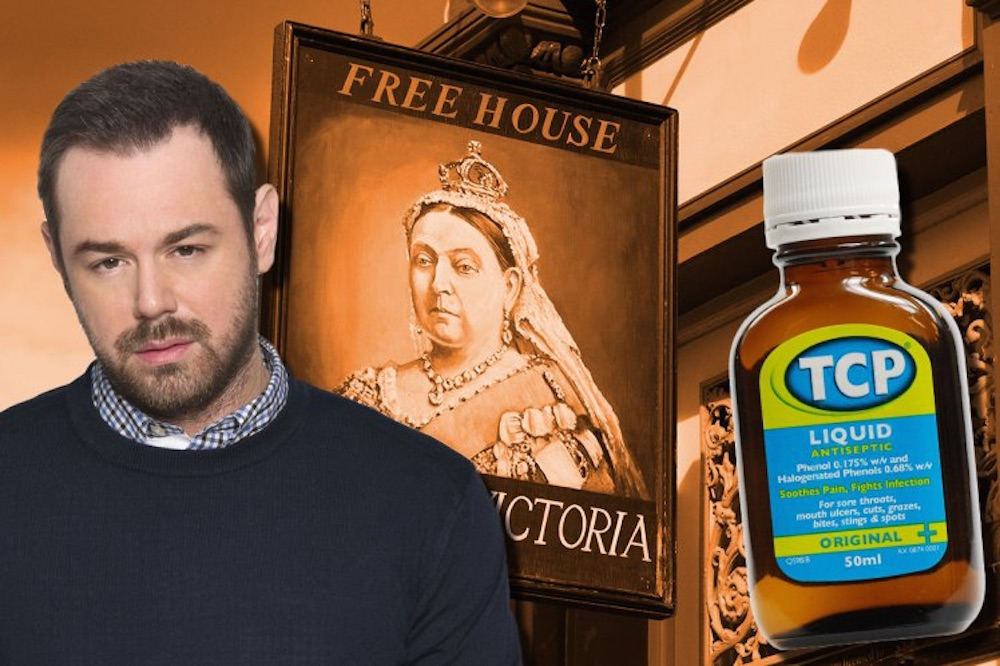 Danny Dyer TCP Queen Vic