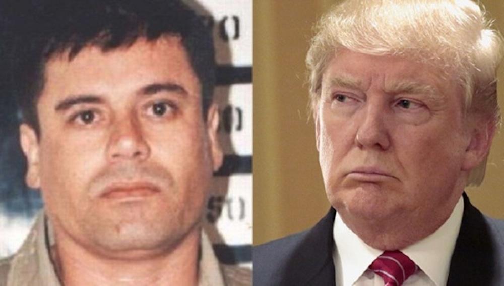 El Chapo Donald Trump