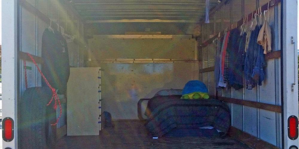 Google House Truck Inside