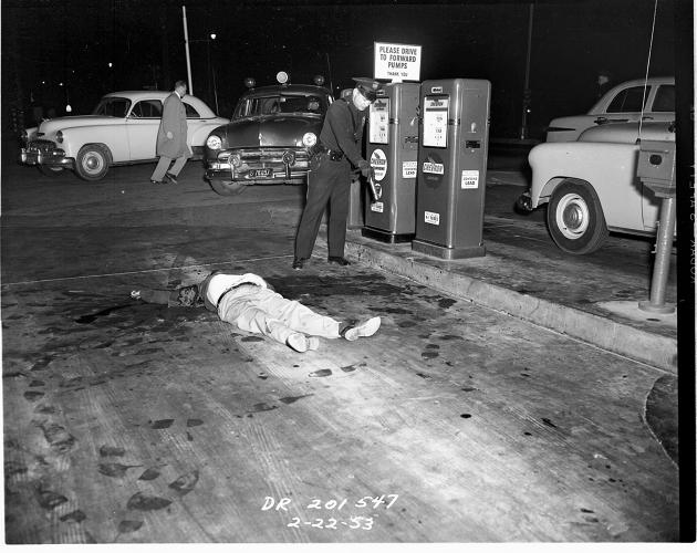 Disturbing Crime Scene Photos From The LAPD In 1953 (NSFW ...