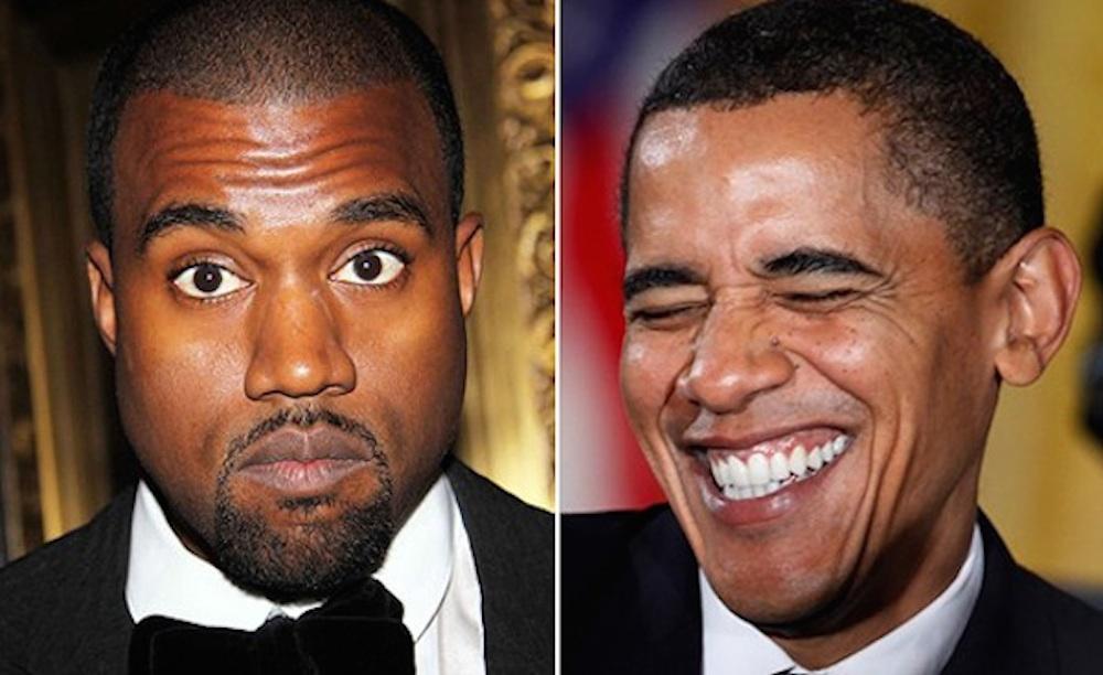 Kanye West Obama
