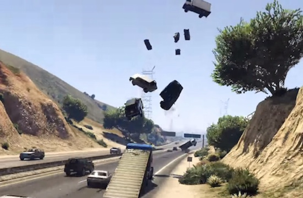 Launch Ramp GTA V