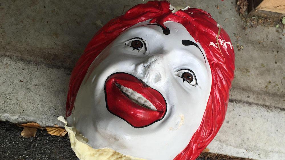 Ronald McDonald Head