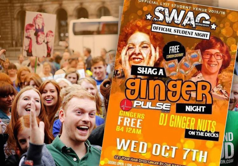 Shag A Ginger Night Cancelled